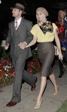 Celebrity Halloween Costumes 2012 Bonnie and Clyde