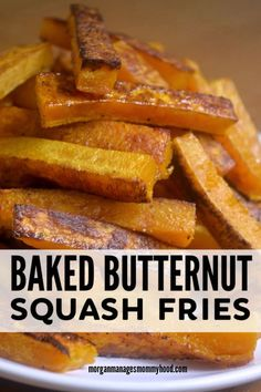 Vegetable recipes for kids can be hard to find - these butternut squash fries are an easy crowd pleaser that kids and adults alike will love! butternutsquash kidfriendly via 444800900695443025 Vegetable Recipes For Kids, Kids Cooking Recipes, Healthy Snacks For Kids, Healthy Foods To Eat, Easy Cooking, Veggie Recipes, Kids Meals, Healthy Eating, Healthy Recipes