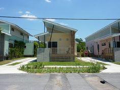 Net-zero energy homes go on the market in New Orleans.