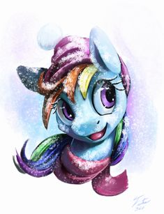 Snow Pony_Dash by Tsitra360.deviantart.com on @DeviantArt
