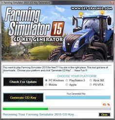 Farming Simulator 2015 Free CD Key