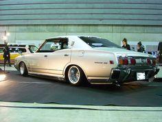 "radracerblog: "" 76′ Nissan Cedric Coupe """