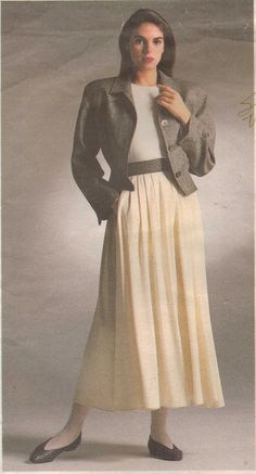 1980s Vogue American Designer Pattern 1914 Perry by CloeCessna, $16.00