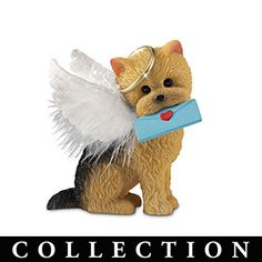 Yorkshire Terrier Angels With Real Feather Wings