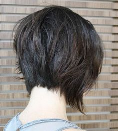 Short Shag Hairstyles - Shaggy Straight