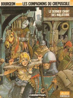 Les compagnons du crépuscule -3- Le dernier chant des Malaterre  -  1990