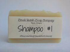Shampoing savon tous les shampooing naturel par SmallBatchSoap
