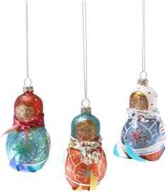 Cody Foster & Co Downhill Babushka Ornament