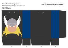 Sacolinha Lembrancinha Super-Heróis Thor