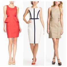The Woman Wearing It #style #blog #sheath #dress #limited #michaelkors #anthropologie