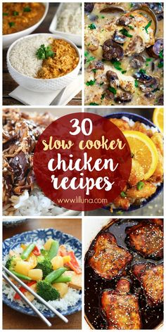 30+ Slow Cooker Chic