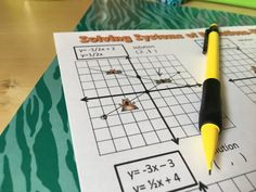 Get students the practice they need graphing systems of equations with Whack a Mole. Check out all 11 graphing systems of equations activity ideas. Solving Linear Equations, Systems Of Equations, Math Help, Fun Math, Math Lab, Graphing Activities, Math Games, Maths Algebra, 8th Grade Math