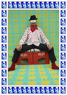 Portraits Of Moroccan Hipsters - BY Hassan Hajjaj.  The New York Times sees shades of Matisse and Koons. ArtNet is convinced he's the next David LaChapelle. But Hassan Hajjaj, the Moroccan stylist and photographer, started out simply wanting to capture the essence of his home country in ways his buddies back in London would appreciate.