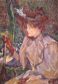 Henri de Toulouse Lautrec, La femme aux gants (1891)