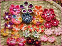 Summer Lovin' Flowers, Hairclips and Chidori!