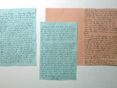 Five, unpublished, pages of Anne's diary appear, causing great commotion. Anne Frank Amsterdam, Dutch Government, Anne Frank House, S Diary, Berlin Wall, School Photos, Anna, Ww2, Journals