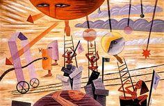 PINTORES LATINOAMERICANOS-JUAN CARLOS BOVERI: pintores argentinos: xul solar