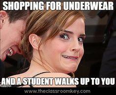 teacher humor, the downside of teacher celebrity status  #teacherproblems