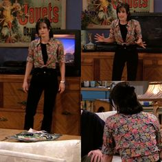 monica geller's style Estilo Rachel Green, Rachel Green Outfits, Estilo Fashion, Fashion Tv, Fashion Outfits, Tv Show Outfits, Cool Outfits, Fashion Friends, 90s Inspired Outfits