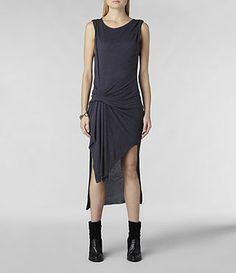 Riviera Jersey Dress - All Saints