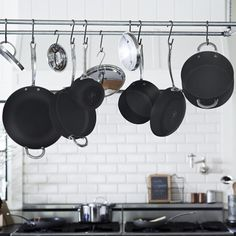 Williams-Sonoma Open Kitchen Hard-Anodized 10-Piece Cookware Set | Williams-Sonoma