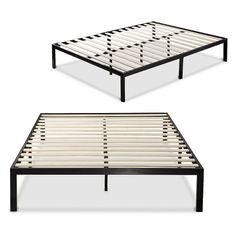 Platform Metal Bed Frame/Mattress Foundation Zinus 1000 - Sleep Revolution : Target