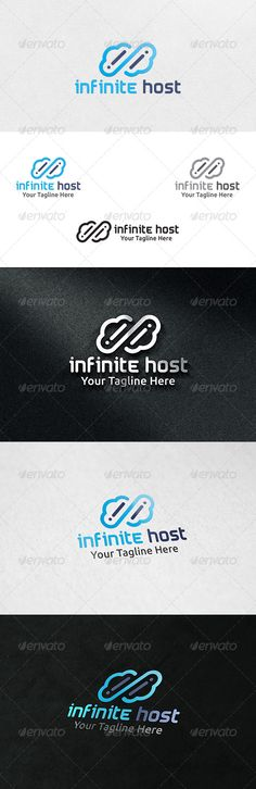 Infinite Cloud Host - Logo Template
