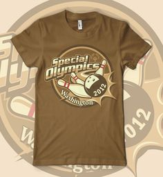 Special Olympics Fall Bowling Shirt by BIOhazard!™ #POTD99 05.15.2013