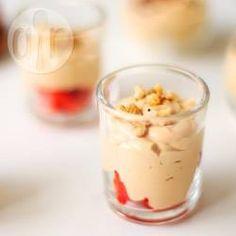 Dulce de leche mousse (karamelmousse) @ allrecipes.nl