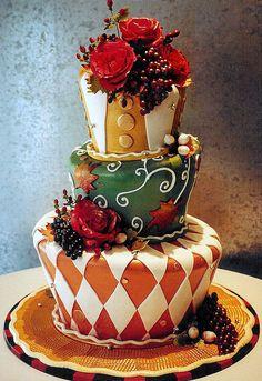 Wonderland cake.