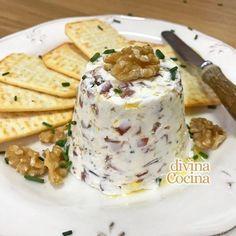 crema de queso para aperitivos