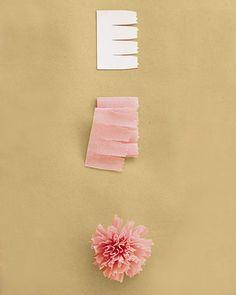 Flores de papel crepom no blog Detalhes Magicos 11.cravo