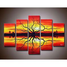 Sunset-Hand-painted-Canvas-Art-Set-L12128593.jpg 650×650 pixels