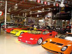Inside Jay Leno's garage