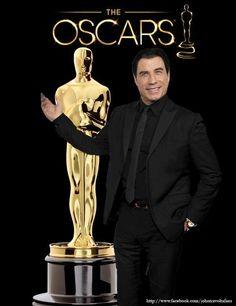 John Travolta 2014 Oscars