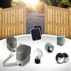 Aluminium full boarded dual swing gate EMALU - DENIA by Mister Gates Direct Electric Gate Opener, Eco Friendly Environment, Gate Automation, Gate Openers, Aluminium Gates, Double Gate, Sliding Gate, Ral Colours, Entry Gates