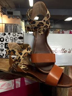 Double buckle ankle flat