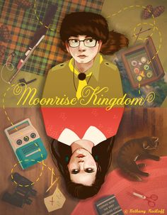 Moonrise Kingdom Poster on the College for Creative Studies Portfolios