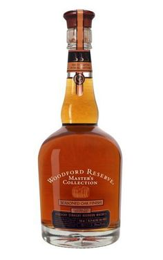 Woodford Reserve added to its Master's Collection of bourbon whiskies with the release of a great sipping bourbon called Seasoned Oak Finish.