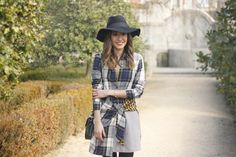 Tartan Shirt Dress | BeSugarandSpice - Fashion Blog