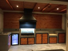 Outdoor Grill Area, Outdoor Grill Station, Outdoor Barbeque, Outdoor Kitchen Plans, Patio Kitchen, Outdoor Kitchen Design, Backyard Pavilion, Backyard Bar, Grill Design