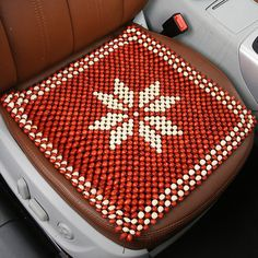 Beaded Car Seat Cover Office Chair Cushion Cushions Dining Room