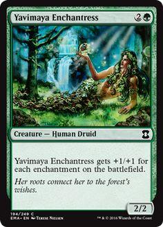 Yavimaya Enchantress - Eternal Masters Spoiler