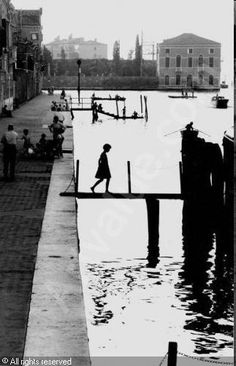 Fondamenta nuove, Venise - Willy Ronis 1959