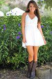 When In Romance Dress: Ivory
