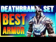 Skyrim Special Edition Best Armor - DEATHBRAND Locations (Unique Secret Light Armor Walkthrough) - YouTube