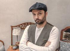 Free Image on Pixabay - Man, Sitting, Folded Arms, Grumpy Peaky Blinders, Traits Of A Narcissist, Narcissistic Traits, Folded Arms, Types Of Hats, Beard Look, Pantalon Costume, Grey Vest, Millinery Hats