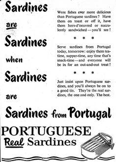 Sardine advertisement