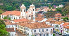 Pacote Belo Horizonte Inhotim Ouro Preto Mariana Tours guia Aereo cafe da manha