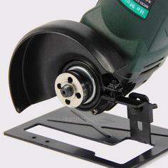Máquina para cortar Amoladora de ángulo Herramienta de conversión soporte de metal cubierta de escudo de seguridad